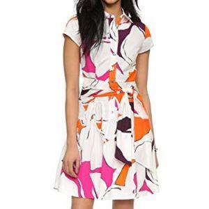 Diane von Furstenberg DVF Scarlet Dress, sz 4